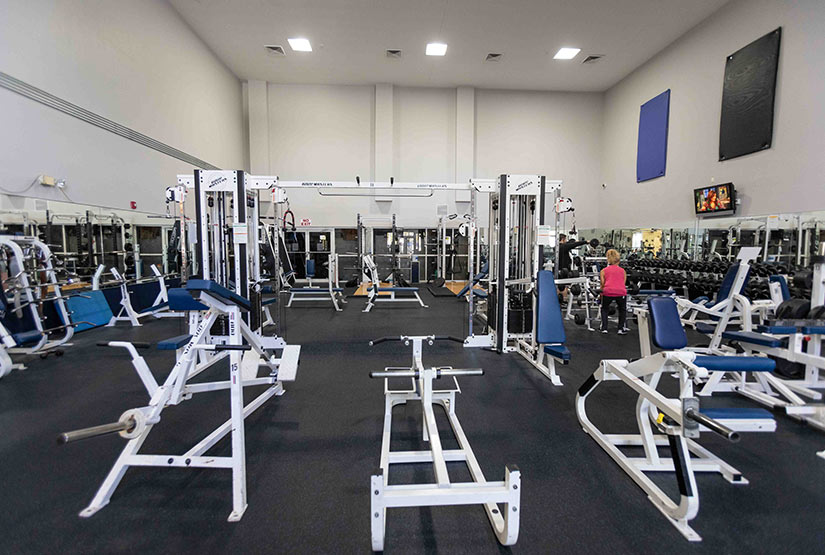 Full-Service Fitness Center Features