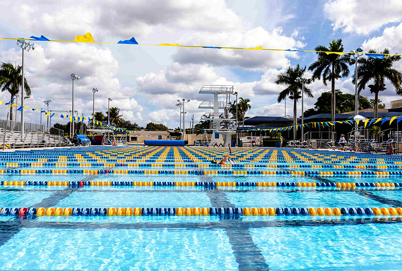 Aquatic Complex – This world-renowned facility is home to